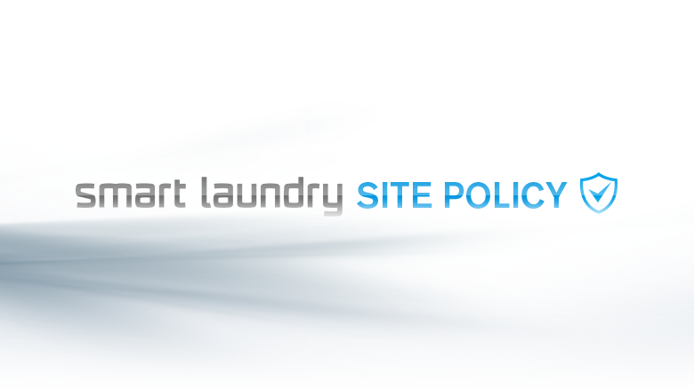 smart laundry SITE POLICY